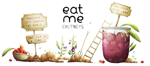 About Eat Me Chutneys