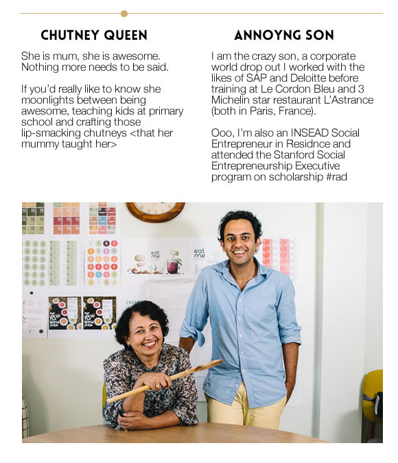 The Team - Chutney Queen & Annoying Son